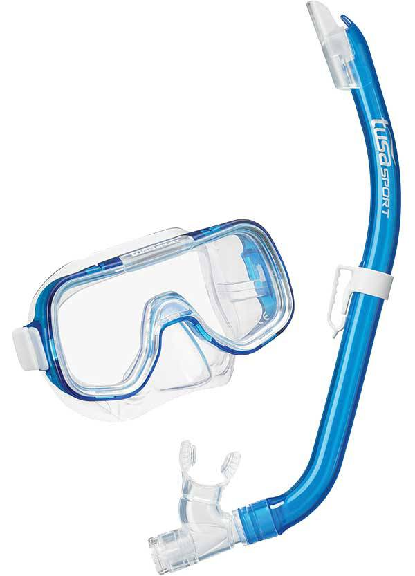 TUSA Sport Jr. Mini Kleio Snorkeling Combo with Reusable Bag product image