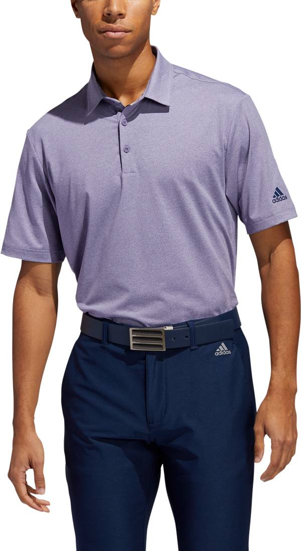 adidas Men's Ultimate 2.0 Novelty Heather Golf Polo product image