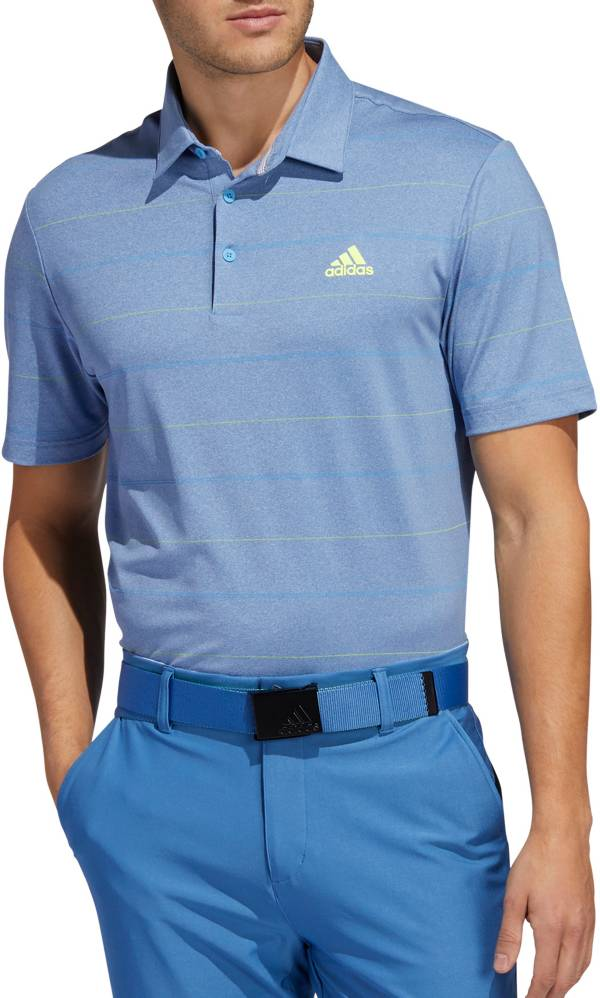 adidas Men's Ultimate365 Heather Stripe Golf Polo product image
