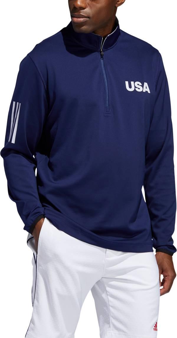 adidas Men's Lightweight Layering USA ¼ Zip Golf Pullover product image
