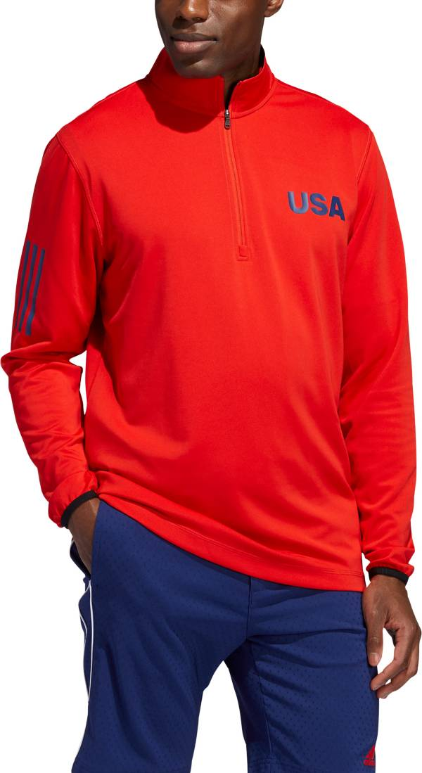 adidas Men's Lightweight Layering USA ¼ Zip Golf Pullover product image