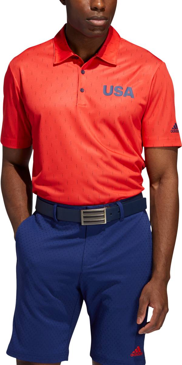 adidas Men's Ultimate365 USA Pattern Golf Polo product image