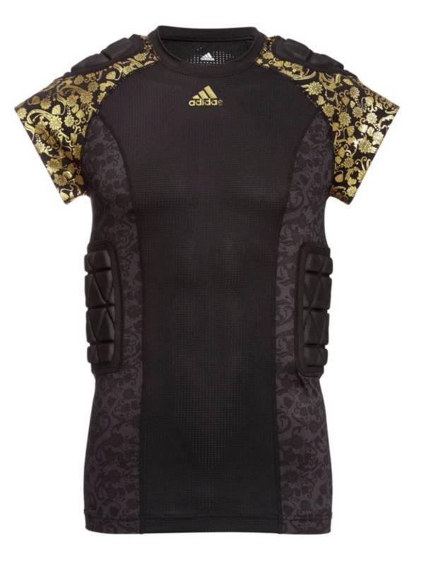 adidas Adult Techfit Printed Padded Football Shirt product image