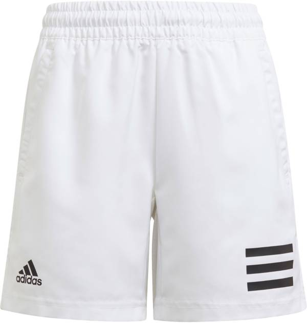 adidas Boys' Club 3-Stripe Tennis Shorts product image