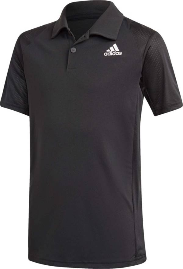 adidas Boys' Club Tennis Short Sleeve Polo Shirt product image