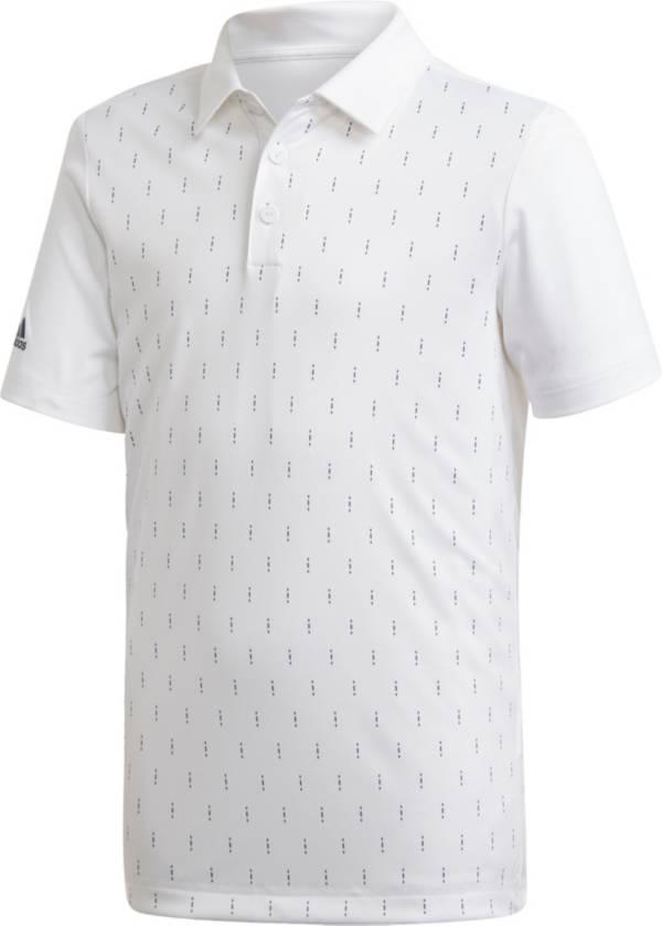 adidas Boys' Graphic Print Golf Polo product image
