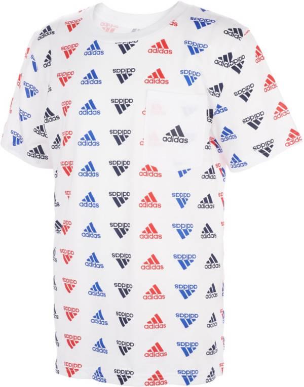 adidas Boys' Brand Love Printed T-Shirt product image