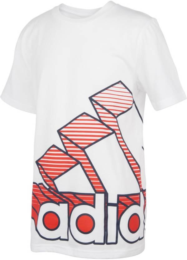 adidas Boys' Badge of Sport 3D Wraparound T-Shirt product image
