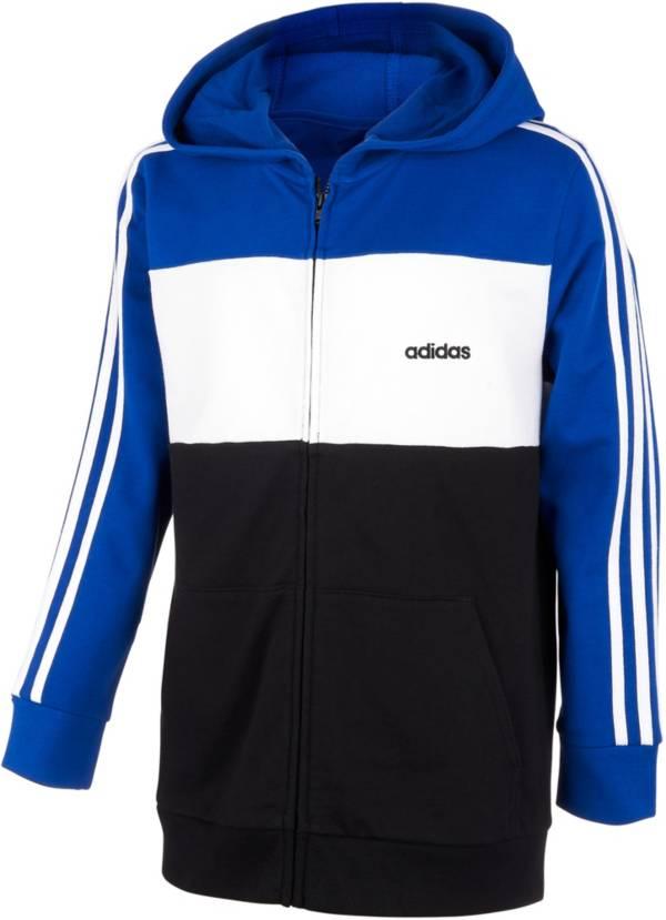 adidas Boys' Color Blocked Full Zip Hoodie product image