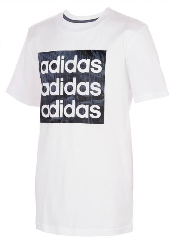 adidas Boys' Core Camo Short Sleeve T-Shirt product image