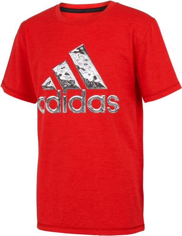 adidas Boys' AEROREADY Liquid Metal Graphic T-Shirt product image
