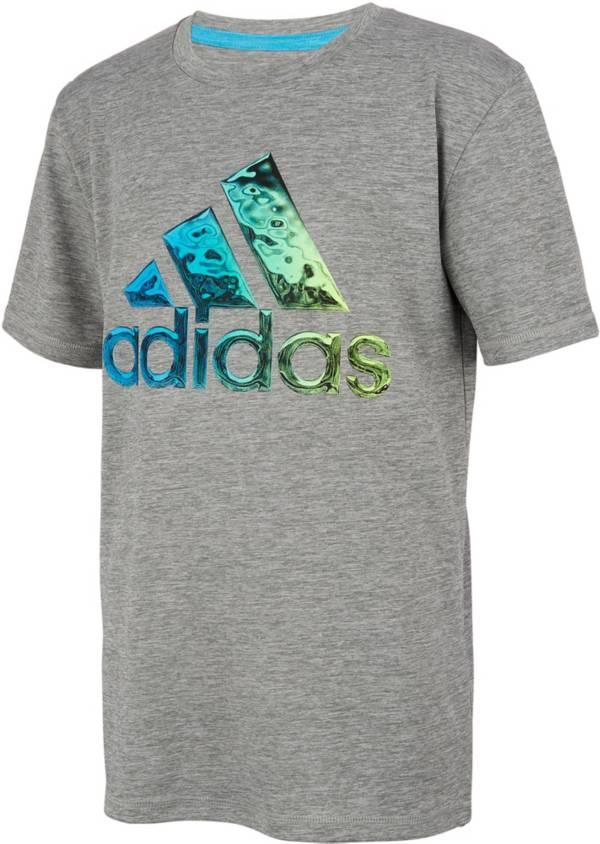 adidas Boys' AEROREADY Liquid Metal Graphic T-Shirt product image