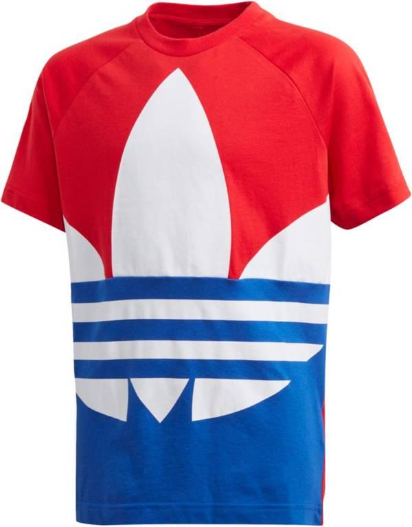 adidas Originals Boys' Americana Trefoil Short Sleeve T-Shirt product image
