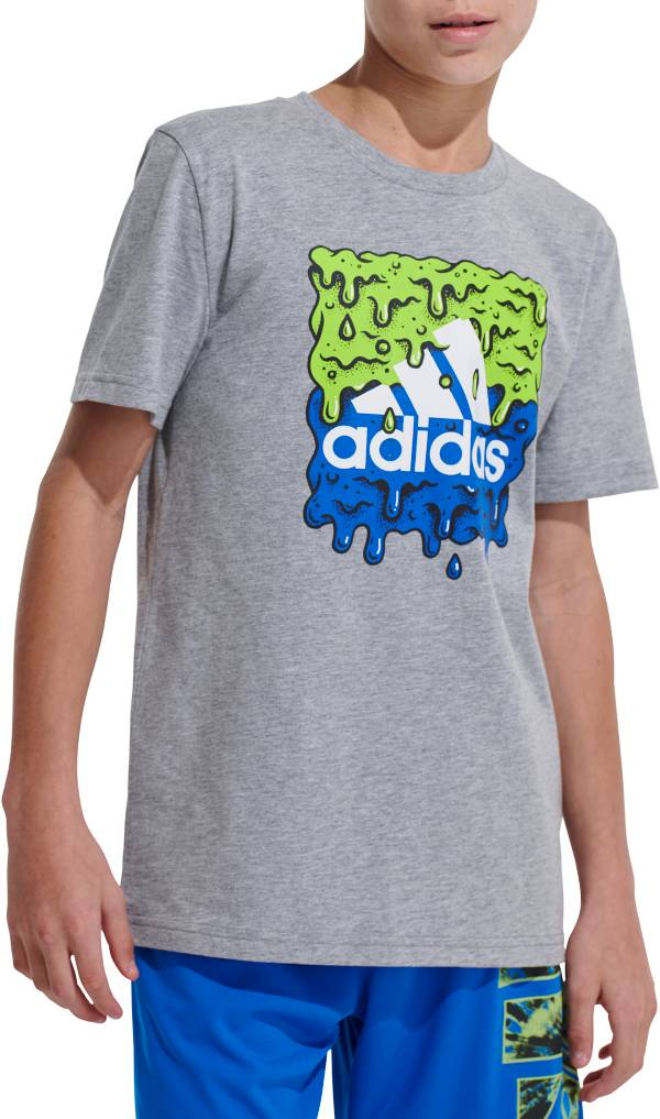 adidas Boys' Slime Graphic T-Shirt product image
