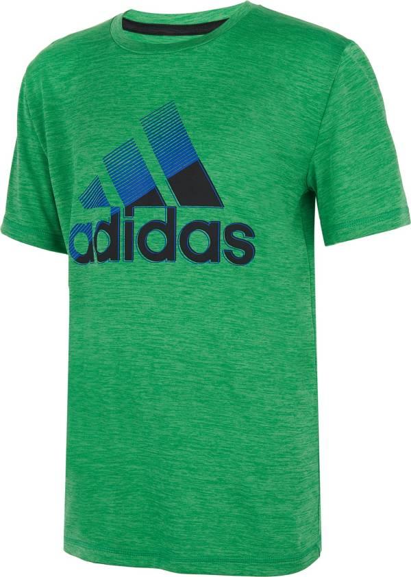 adidas Boys' AEROREADY Sliced Badge of Sport T-Shirt product image