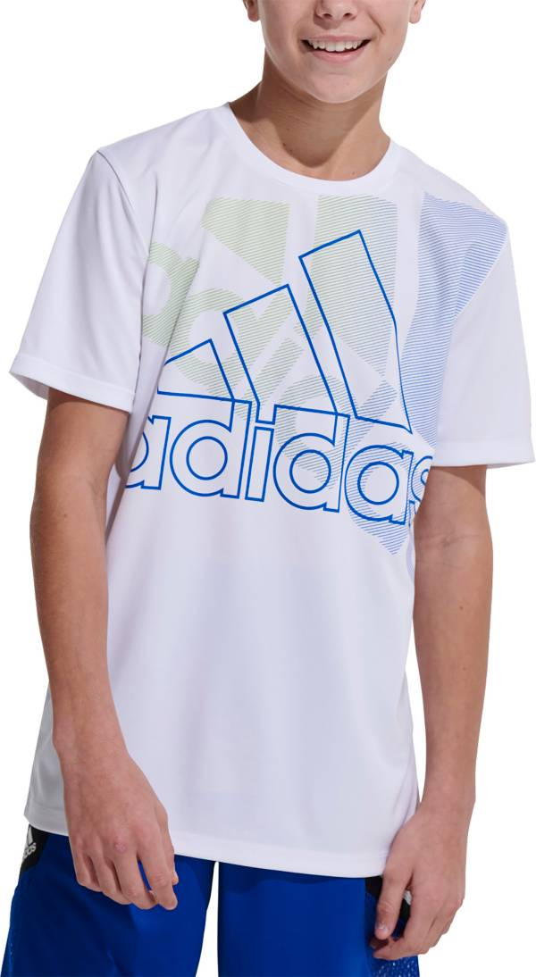 adidas Boys' AEROREADY Statement Badge Of Sport T-Shirt product image