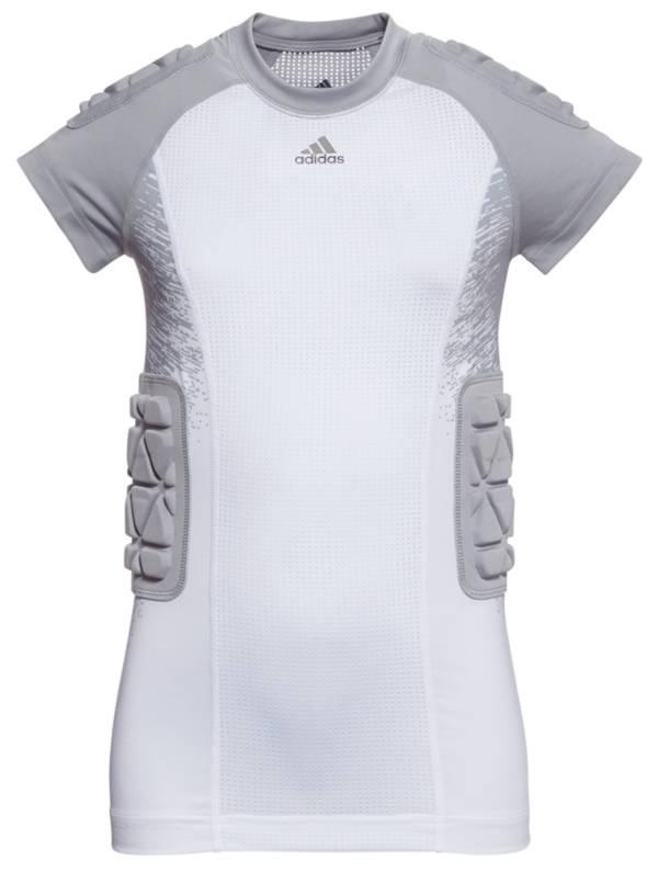 adidas Youth Techfit Padded Printed Football Shirt product image