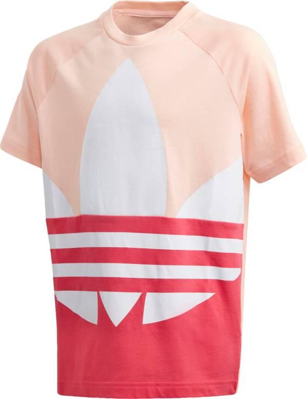 adidas Girls' Big Trefoil Short Sleeve T-Shirt product image