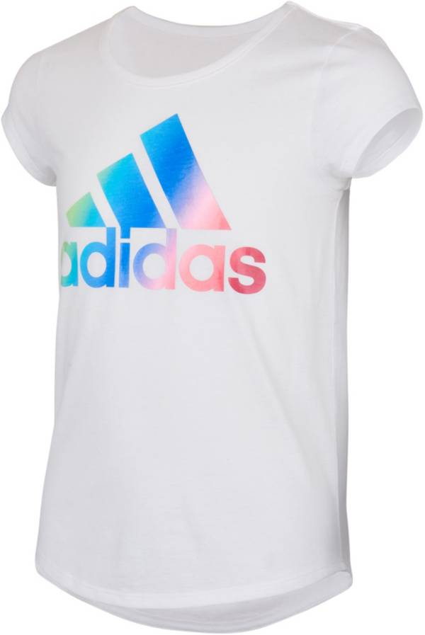 adidas Girls' Badge of Sport Ombre' Graphic Scoop Neck T-Shirt product image