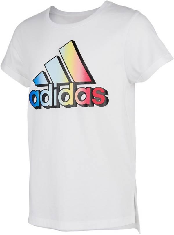 adidas Girls' Classic Boxy Short Sleeve T-Shirt product image