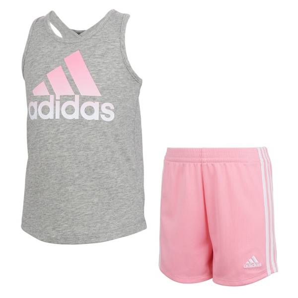 adidas Toddler Girls' ADI Tank Top and Shorts Set product image