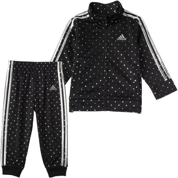 adidas Girls' Dot Tricot Jacket and Pants Track Set product image
