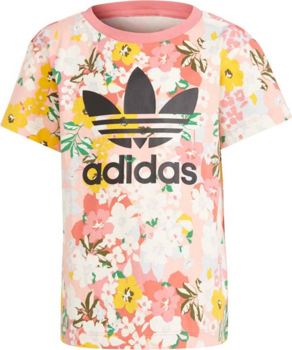adidas Kids' Her Studio London Floral Tee product image