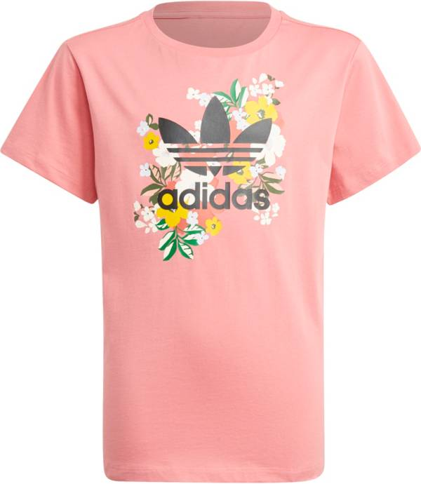adidas Girls' Floral T-Shirt product image
