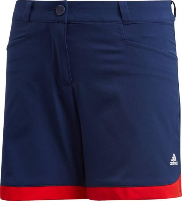 adidas Girls' Blocked Golf Shorts product image
