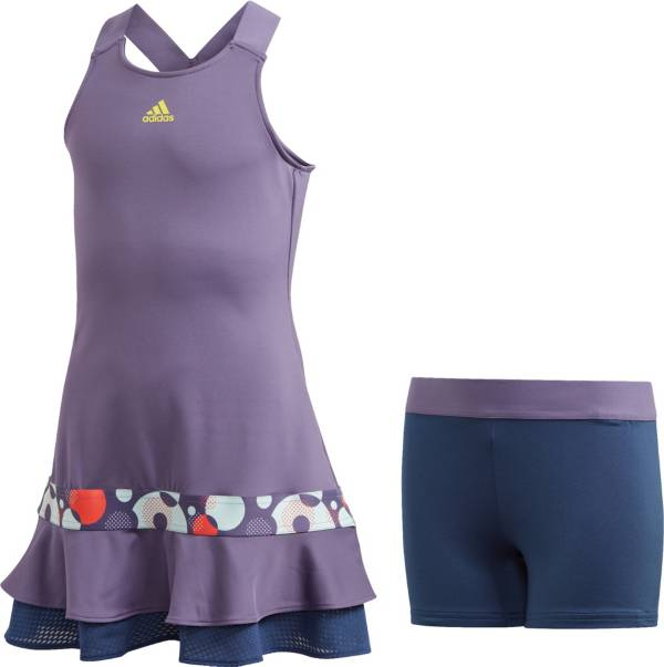 adidas Girls' Frill Tennis Dress product image