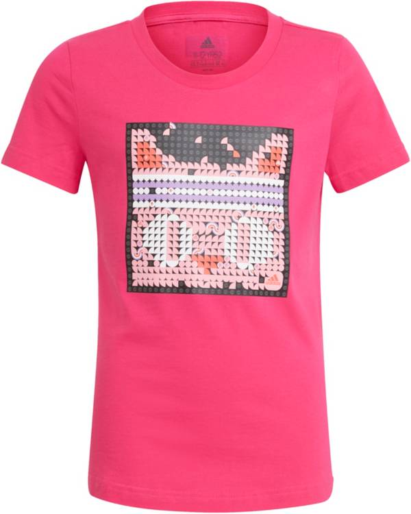adidas Girl's LEGO DOTS Graphic T-Shirt product image