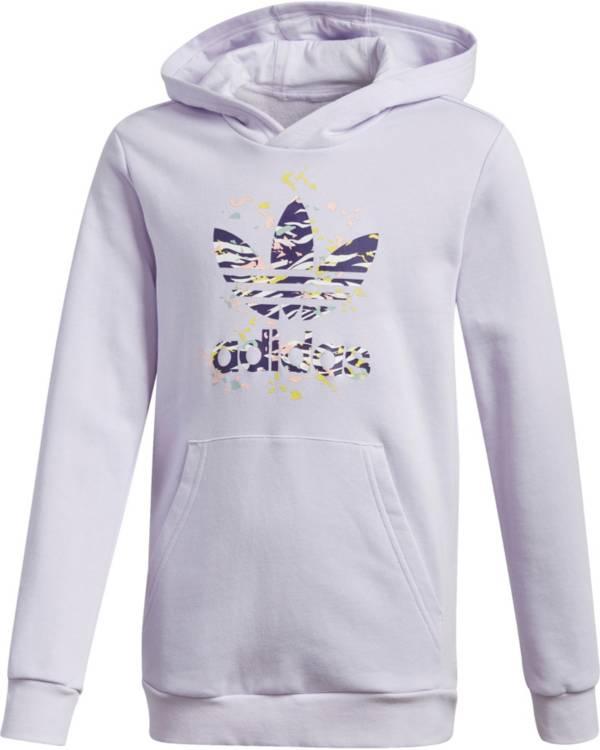adidas Originals Girls' Printed Trefoil Hoodie product image