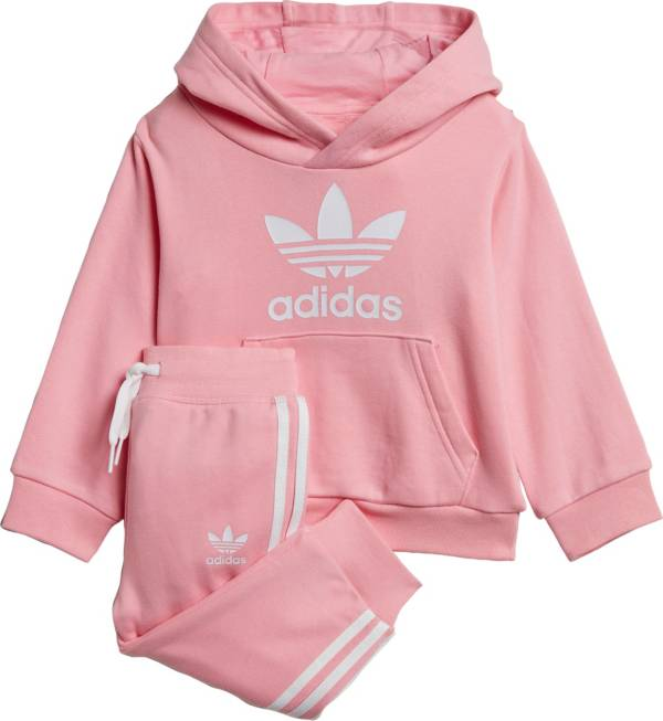 adidas Infant Girls' Trefoil Hoodie Set product image