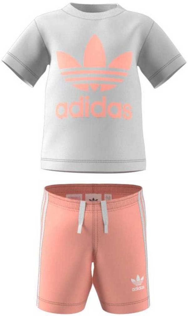 adidas Girls' Trefoil Shorts Tee Set product image