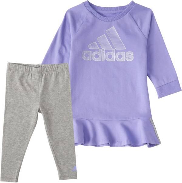 adidas Little Girls' Varsity Dress and Leggings Set product image