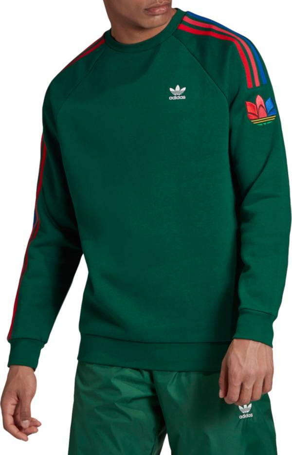 gusto delincuencia Despertar  adidas Originals Men's 3D Trefoil 3-Stripes Crewneck Sweatshirt | DICK'S  Sporting Goods