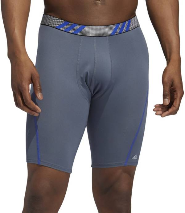 adidas Men's Sport Performance Mesh Long Boxer Briefs – 3 Pack product image