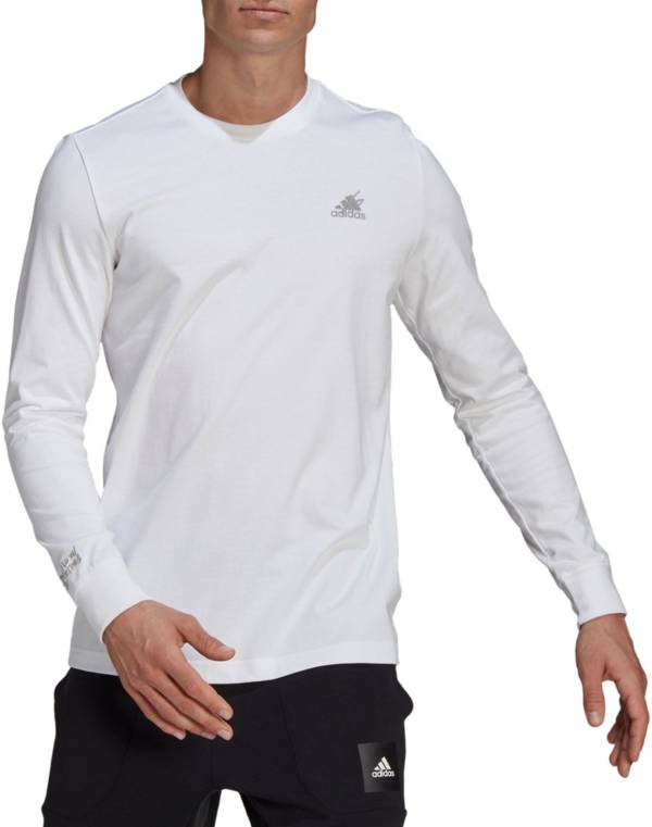 Adidas Men's Badge of Sport Scribble Long Sleeve Tee product image