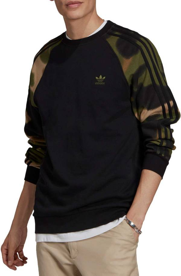 adidas Men's Camo 3-Stripes Crewneck product image