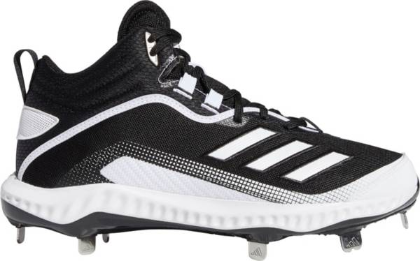 adidas Men's Icon 6 Bounce Mid Metal Baseball Cleats product image