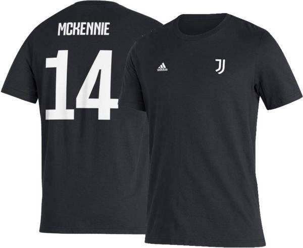 adidas Men's Juventus Weston McKennie #14 Amplifier Black T-Shirt product image