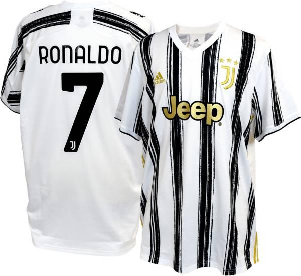 adidas Men's Juventus '20 Cristiano Ronaldo #7 Home Replica Jersey ...