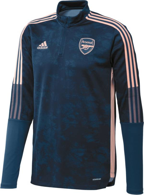 adidas Youth Arsenal Tiro Navy Full-Zip Track Jacket product image