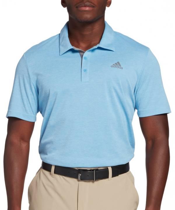 adidas Men's Advantage Novelty Heather Short Sleeve Golf Polo product image