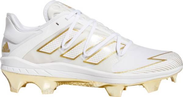 adidas Men's adizero Afterburner 7 Gold TPU Baseball Cleats product image