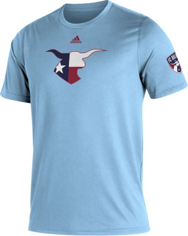 adidas Men's FC Dallas Blue Kickoff Creator Performance T-Shirt product image
