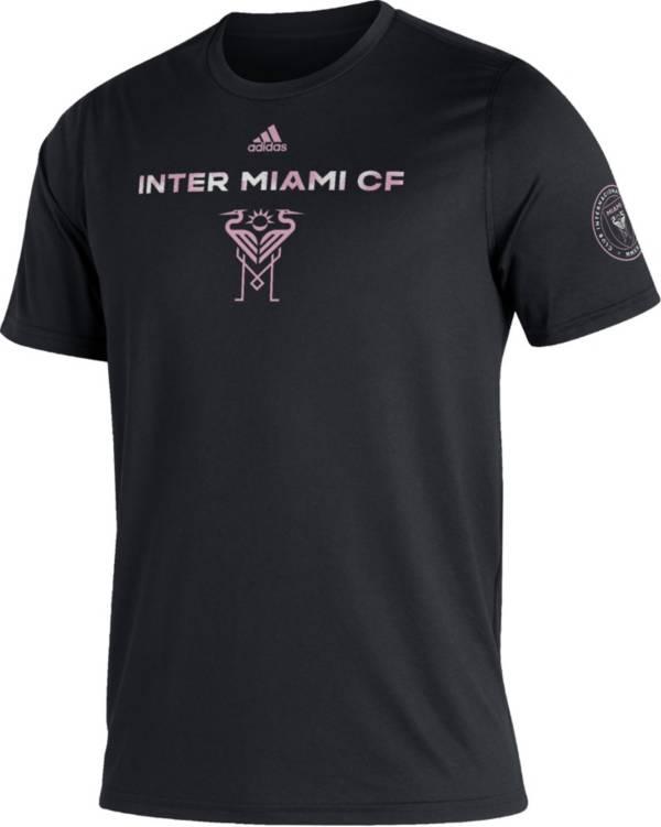 adidas Men's Inter Miami CF Black Kickoff Creator Performance T-Shirt product image
