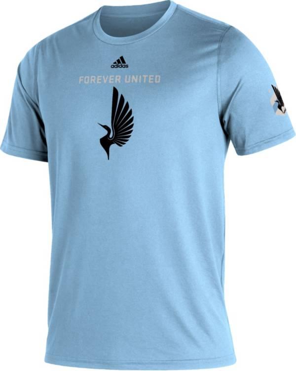 adidas Men's Minnesota United FC Blue Kickoff Creator Performance T-Shirt product image