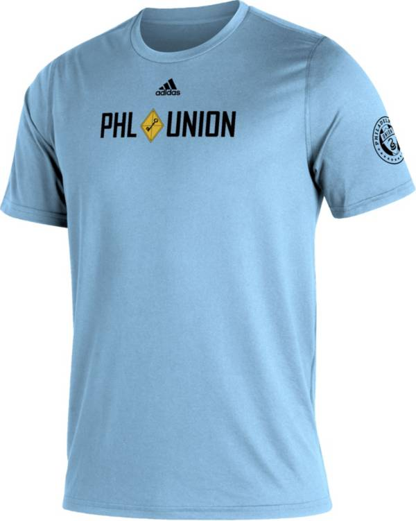 adidas Men's Philadelphia Union Blue Kickoff Creator Performance T-Shirt product image