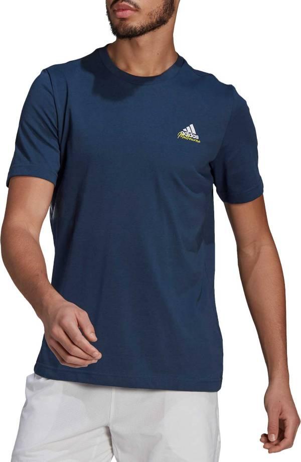 adidas Men's Tennis Graphic Melbourne Short Sleeve T-Shirt product image